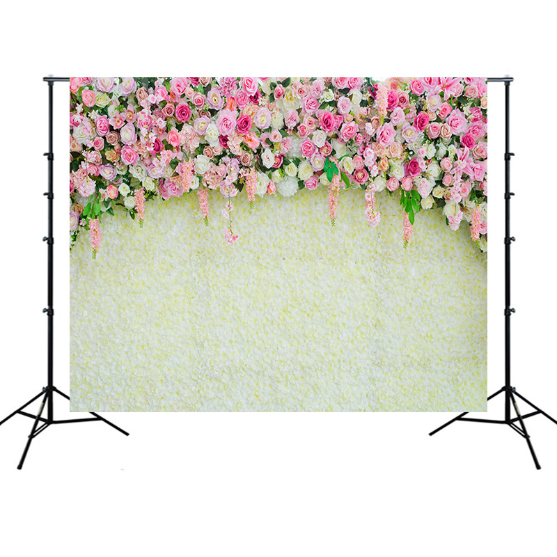 Big Sale Full Flower Photo Shoot Backdrops Married Wedding