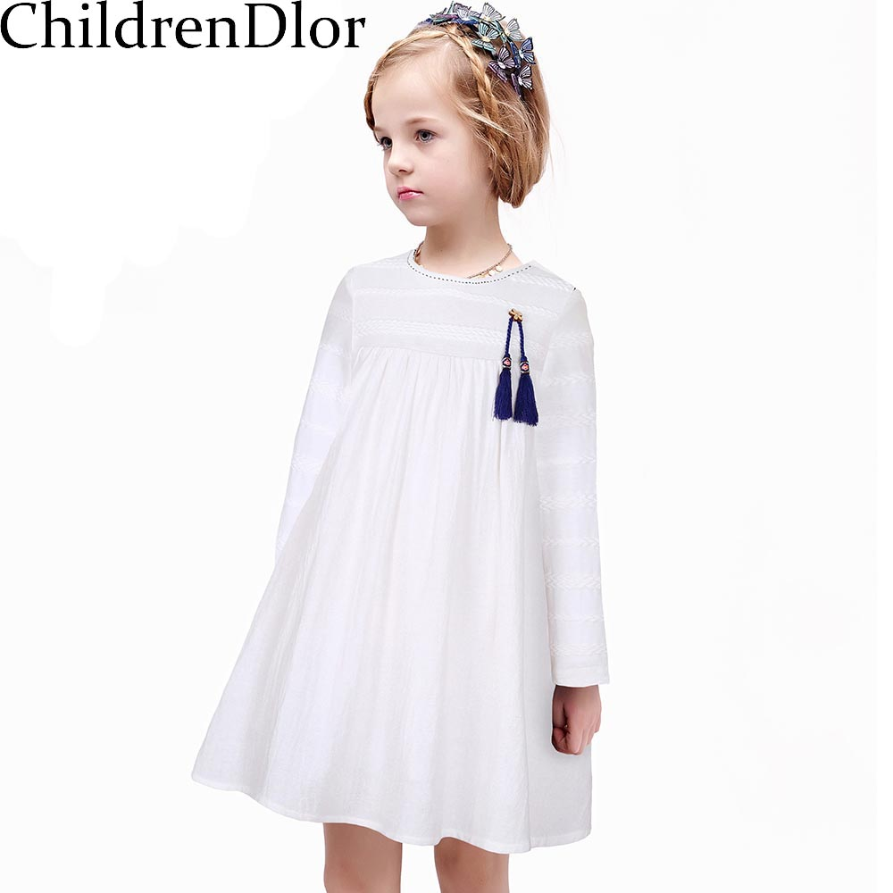 Подробнее о Long Sleeve Girl Dress Toddler Girl Clothing 2017 Brand Kids Dresses for Girls Clothes Mode Enfant Princess Dresses Robe Fille baby girl dress 2016 brand girls summer dress children clothing lemon print kids dresses for girls clothes robe princesse fille
