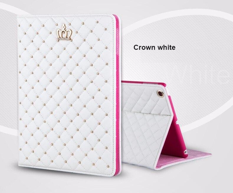 Bling Crown Coque for iPad mini 1 mini 2 mini 3 Case Luxury Stand A1432 A1454 A1490 Cover for iPad mini 1 2 3 Luxury Cover (4)