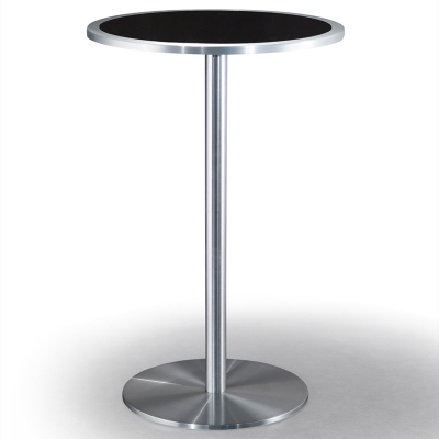 Simple modern tempered glass creative restaurant high bar table balcony home fashion round table negotiating table