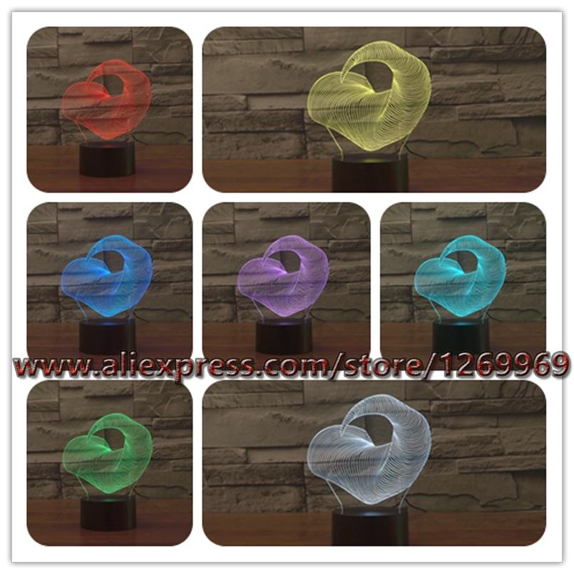 Neue 2017 Abstrakte Tier Finger 3D LED USB RC Lampe Baum Ast Mode Design 7 Farben
