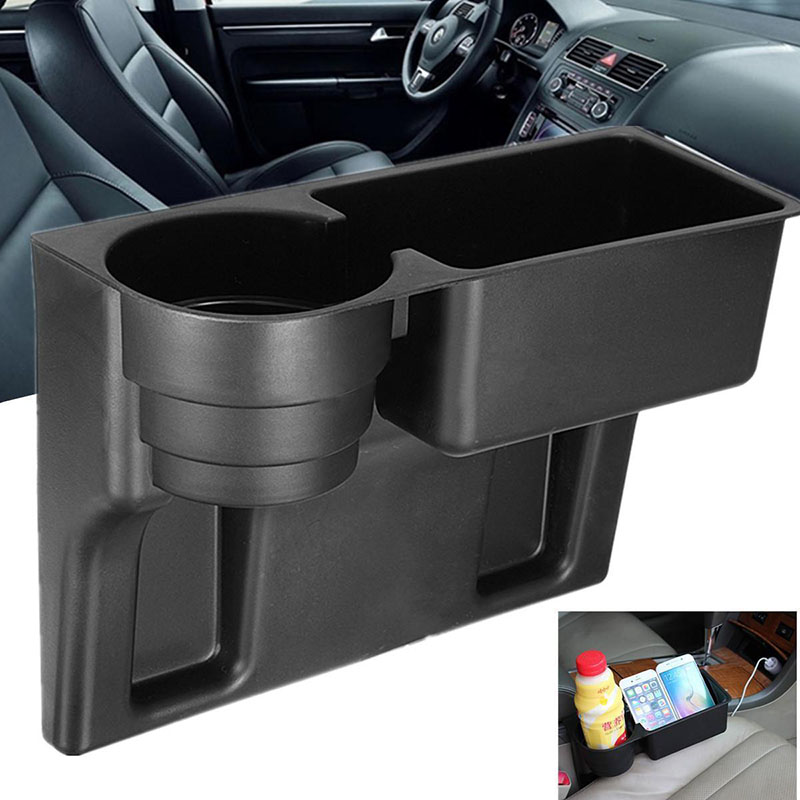 Mayitr Universal Car Truck Seat Seam Wedge Cup Drink Holder Beverage Mount Stand Multifunction Car Interior Organizer Holder drink holder car plastic universal auto car vehicle drink bottle beverage cup holder air vent mount stand for truck van