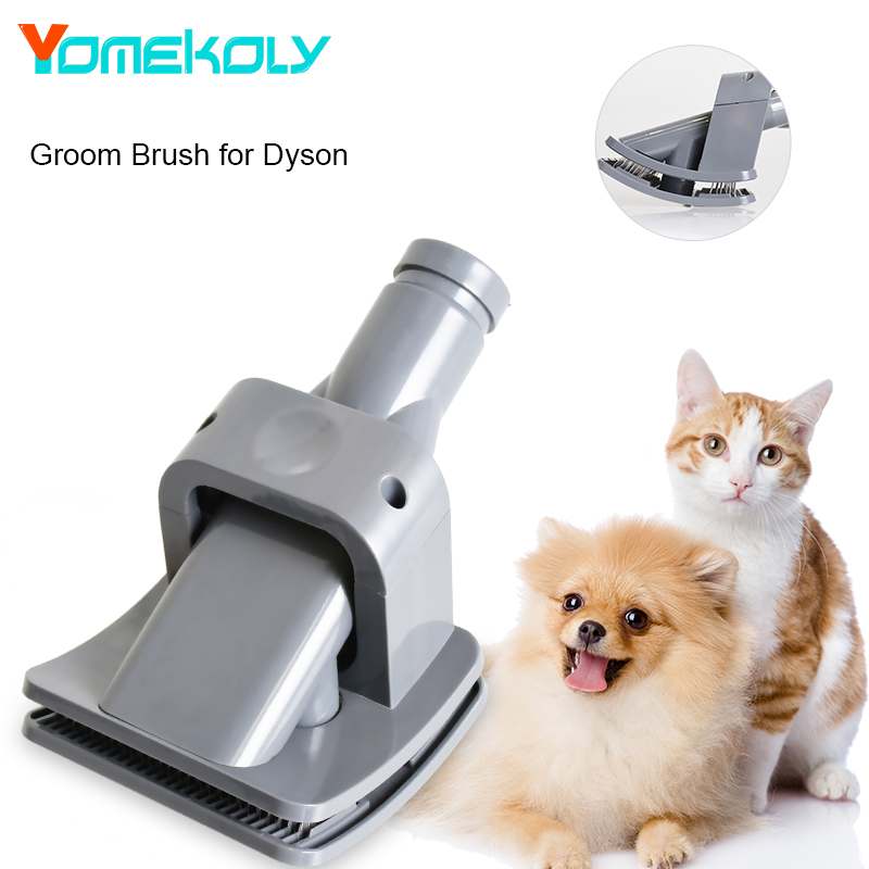 YOMEKOLY 1PC ABS Vacuum Cleaner Brush Dog Pet Hair Tool Groom Brush for Dyson Groom Vacuum Cleaner Replacement e home groom 3550cm холст