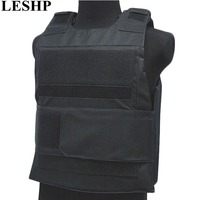 LESHP Security Guard Vest Stab Resistant Vest For Men Women Breathable Genuine Tactical Vest Waterproof Protecting