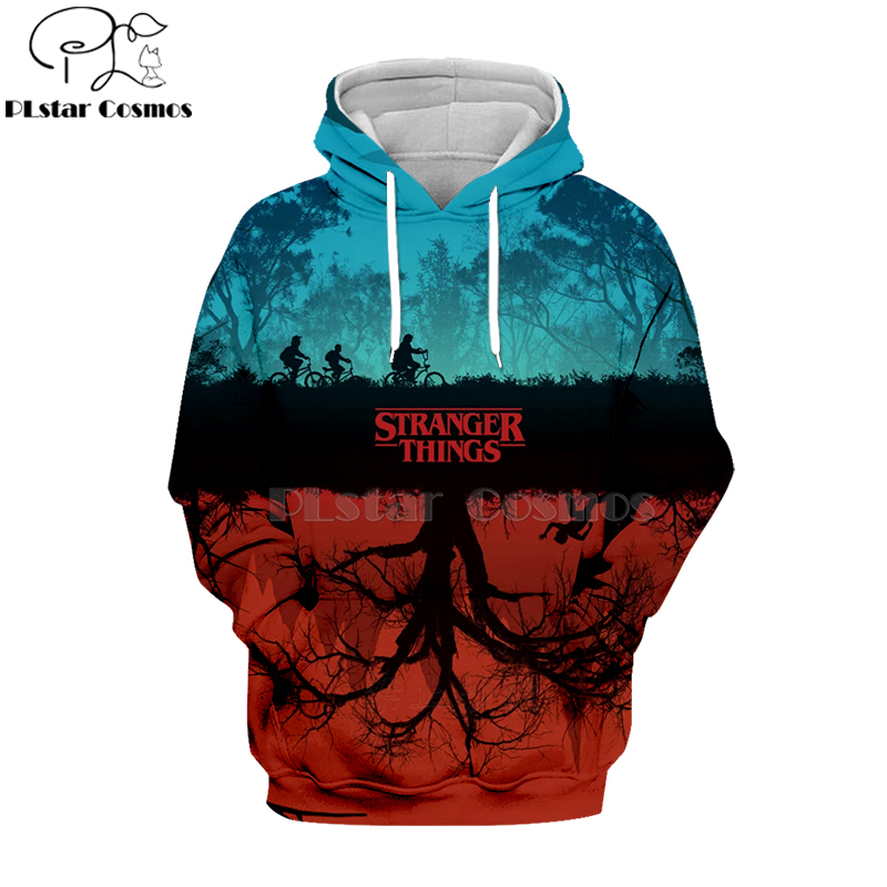 PLstar Cosmos 2019 Stranger Things 3d Hoodies 3d  Shirt Sweatshirt  Autumn Winter Long Sleeve Harajuku Hip Hop Streetwear-6