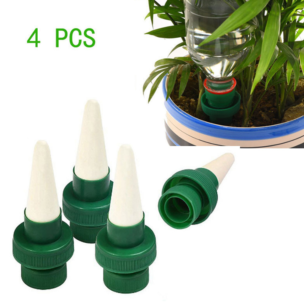 4Pcs Plant Waterer Self Plant Watering Devices for Potted Flower Irrigation Drip Sprinkler Hot Sale FSL in Garden Sprinklers from Home Garden