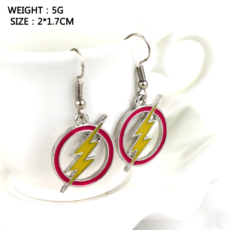 Fashion America DC Comics Flash Goldon Lightning Moment Collier Red - Mode smykker - Foto 6
