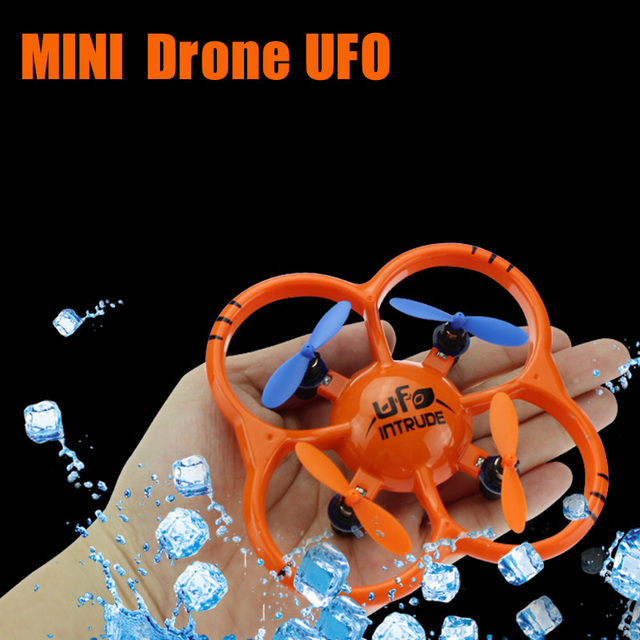 U207 Aircraft Mini Drones UFO 2.4GHz RC Quadcopter with 4-axis Gyro/LED RC Helicopter RTF Best Chirtmas Gift for Children