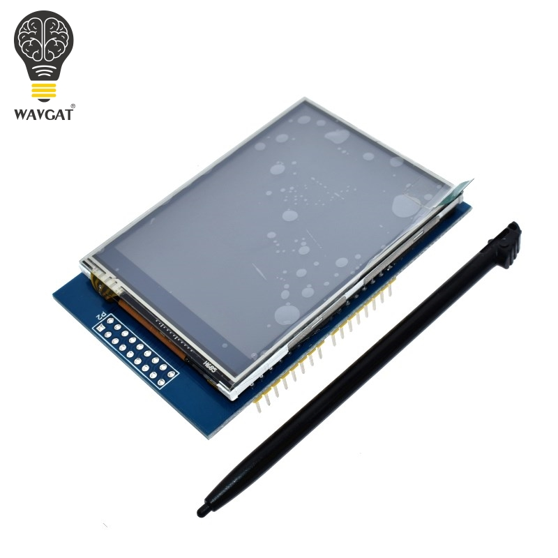 AEAK 2.8 Inch 3.3V 300mA TFT LCD Shield Touch Display Module For Arduino UNO With Resistive Touch Panel DIY Kit