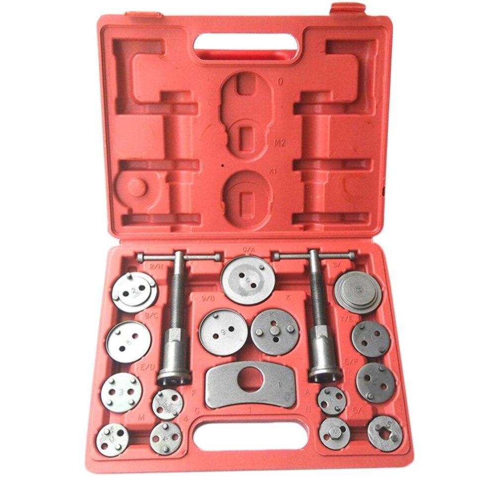 18PCS/Set Brake Caliper Piston Pad Car Rewind Wind Back Auto Repair Tool Kit Brake Pad Tool Replacement Easy To Use