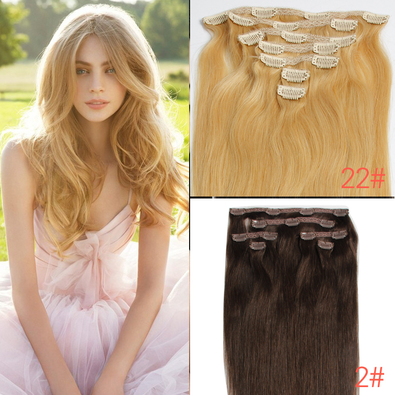 New arrival clip in human real hair extensions 7a 100hair clip new arrival clip in human real hair extensions 7a 100hair clip ins 16 18 20 22 length in stock best selling luxy hair company on aliexpress alibaba pmusecretfo Choice Image