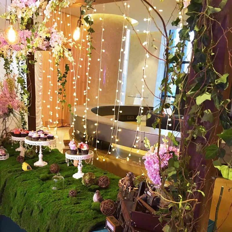 1 м/2 м/3 м/4 м/5 м/10 м/20 м 160Led шары сказочные гирлянды Декоративные огни на батарейках Свадебные Рождественские уличные украшения гирлянды