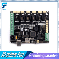 3D Printer Motherboard Megatronics V3 Control Board With Two Welding AD597 Chip and Data Cable 3D Printer Parts Free Shipping|3D Printer Parts & Accessories|   -