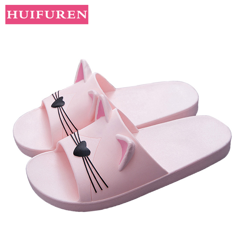 2019 New Slippers Summer Cute Thick couple Lovers Home Indoor sandals Bathroom Shower Slippers  women 2019 New Slippers Summer Cute Thick couple Lovers Home Indoor sandals Bathroom Shower Slippers  women