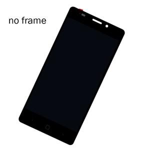 Image 2 - Pantalla LCD Vernee Thor E de 5,0 pulgadas + Digitalizador de pantalla táctil + montaje de Marco 100% LCD Original + digitalizador táctil para Thor E