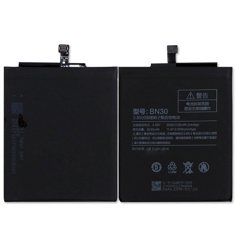US $7 73 14% OFF|For Xiaomi Redmi 4A Battery BN30 3120mAh Redrice 4A Hongmi  4A Bateria Accumulator-in Mobile Phone Batteries from Cellphones &