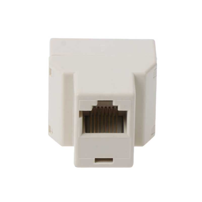 RJ45 CAT5 CAT5E сети Ethernet 1to2 разъем адаптера Nov2-A