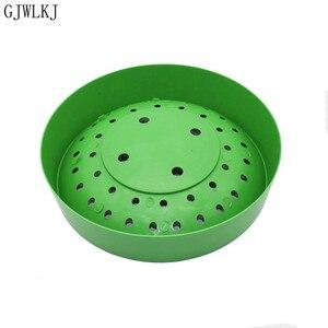 Image 4 - 비둘기 용품 플라스틱 dehumi dification 번식 조류 계란 그릇 패드 자연 섬유 잔디 그릇 공급 사육 그릇 1 pcs