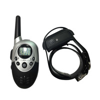 1000 Yard Waterproof Vibra Remote Small Med Large Dog Static Shock Training Collar Electric Pet Dog