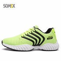 Somix Brand Mesh Breathable Shoes For Men 2017 Free Run Light Running Shoes Men Comfortable Outdoor