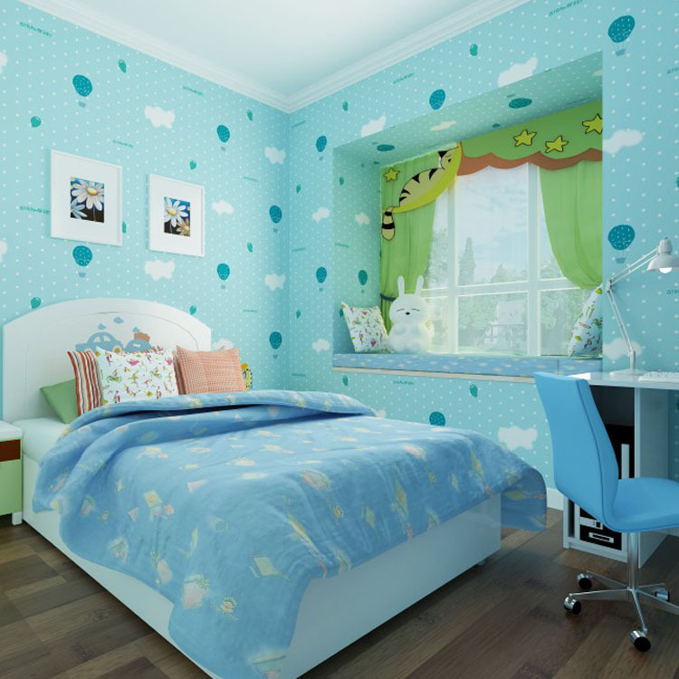 Online Buy Wholesale Modern Wallpaper Blue From China