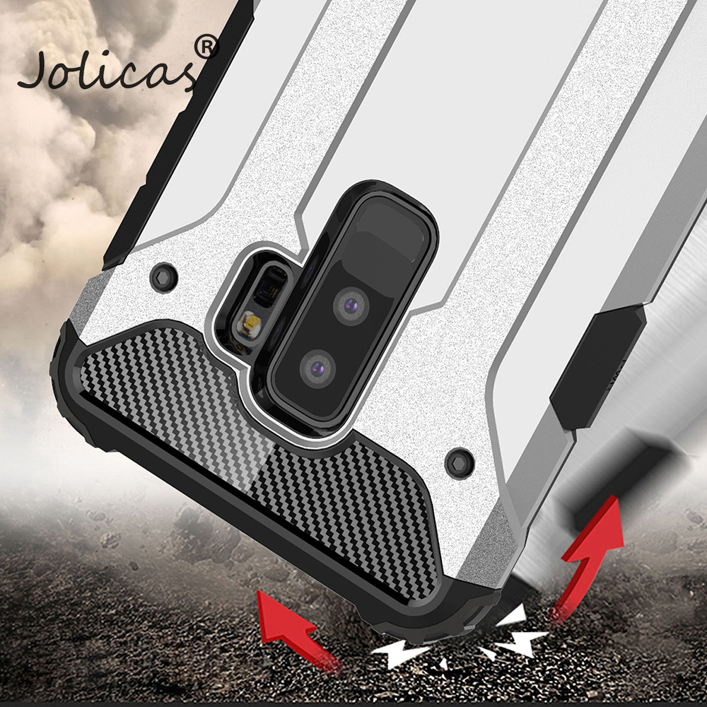 Phone Cases For Samsung Galaxy A8 Plus 2018 S9 Plus S8 Plus S7 Edge S6 Note 8 Case Shockproof Fundas Back Armor Cover sumsung