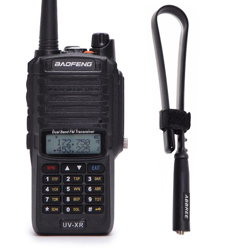 Baofeng UV XR 10 ワット 4800 バッテリー IP67 防水ラジオ & 戦術的なアンテナハンドヘルド 10 キロ長距離強力なトランシーバートランシーバー  グループ上の 携帯電話 & 電気通信 からの トランシーバー の中 1