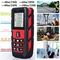Red Laser Distance Measurer Meter Laser Rangefinder Measure Area/Volume 120ft (40m)/ 185ft (60m)/ 245ft (80m)/ 320ft (100m)