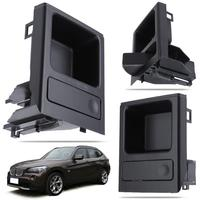 1Pcs Car Front Center Console Storage Tray Coin Holder For BMW 3 Series E46 Black High