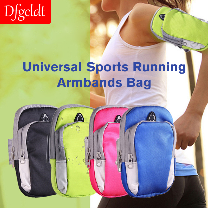 Universal Sports Running Armband Bag Case Cover Running Armband Waterproof Sport Mobile Phone Holder Outdoor Sport Phone GYM Bag in Armbands from Cellphones Telecommunications