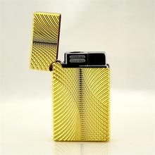 Ping Sound Lighter Gas Turbo Torch Lighter 1300C Windproof stainless steel Metal Butane Jet Cigar Lighter