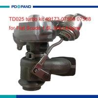 Motor turbo kit TD025 turbo deel voor Fiat Scudo 9HU motor 1.6L 49173-07507 49173-07527 49173- 07504 49173-07503