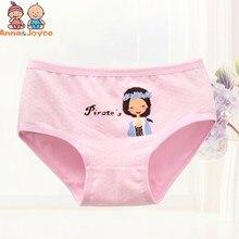 44768a3df378 4pc/lot Girls Princess Cartoon Triangle Underwear Pure Cotton Kids Pants  Children Soft Underpants Pant