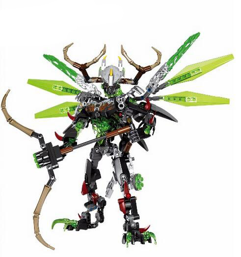 XSZ 612-2 Biochemical Warrior BionicleMask of Light Bionicle Umarak Uxar Building Block Compatible with Lepin Toys цена