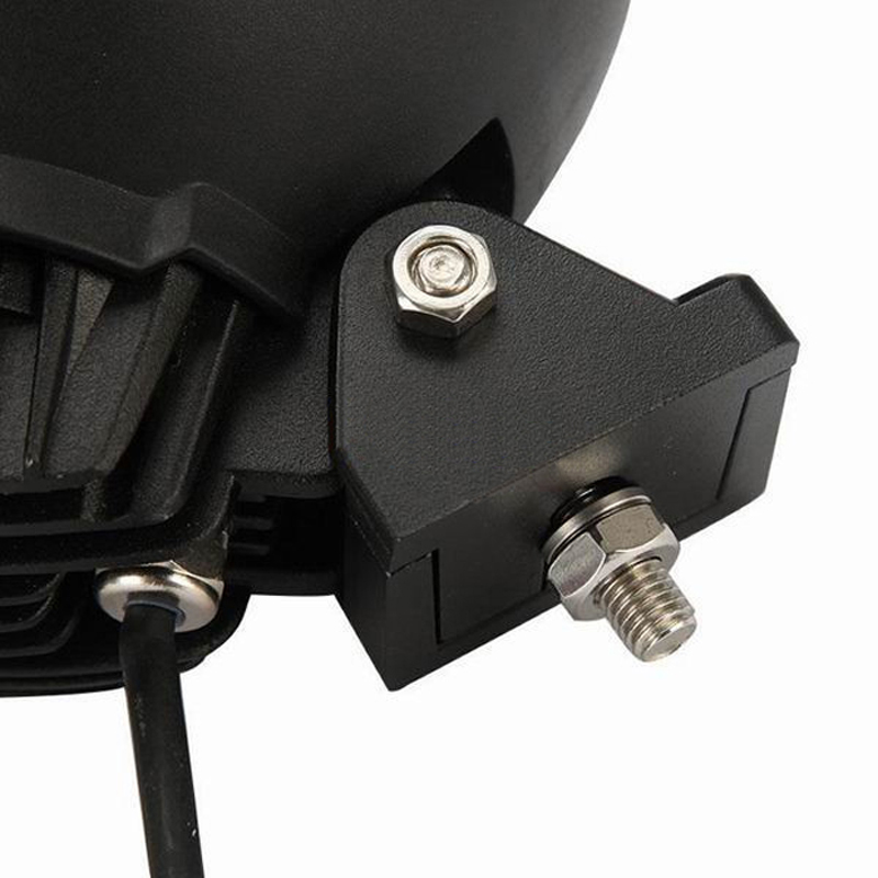 "Image 5 - XuanBa 2Pcs 7"" inch 45W Round Led Work Light Spot Beam 12V 4x4 Off road Boat Truck SUV ATV Headlight Driving Lights 24V Fog Lamp-in Light Bar/Work Light from Automobiles & Motorcycles"