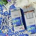 Профессиональные цветные карандаши нетоксичные цветные карандаши из натурального дерева для рисования художника карандаши для эскизов  р...