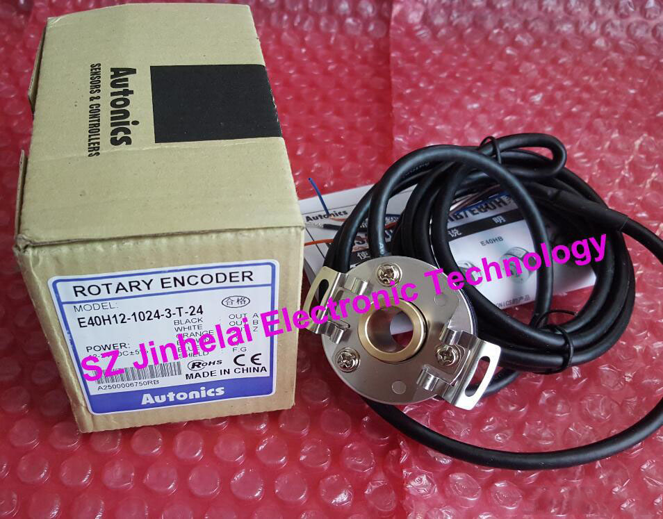 100% Authentic original E40H12-1024-3-T-24 Autonics ENCODER original new 100% special sales import technology encoder e40h12 360 3 t 24