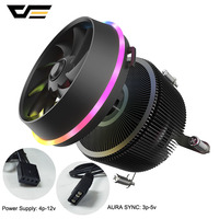 darkFlash Shadow Pro Radiator Cooler PWM CPU Cooling 4pin RGB Cooler Cooling Fan Motherboard Sync for Intel Core i7/i5/AM3/AM4