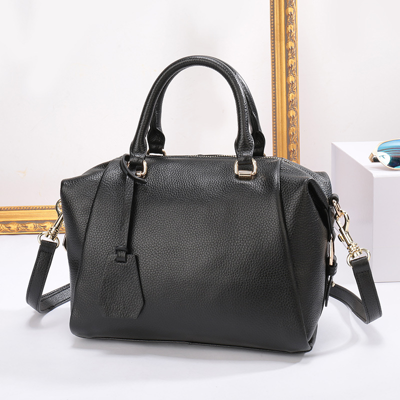 ZENCY 100% Soft Genuine Leather Handel Women's Shoulder Tote Bags Ladies Shopping Handbags Female Messenger Designer Bag Satchel zency genuine leather small women shoulder tassel bags tote handbags first layer cow leather ladies messenger bag satchel