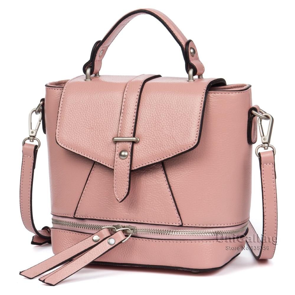 ФОТО Brand women small handbag genuine leather new style hasp flap cover fake opening zipper design women leather shoulder bag