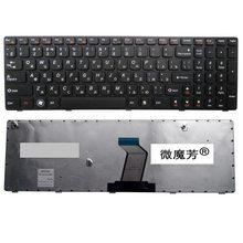 Русский для Lenovo V570 v570c v575 Z570 Z575 B570 b570a B570E v580c b570g B575 b575a B575E B590 b590a RU B580 клавиатура ноутбука