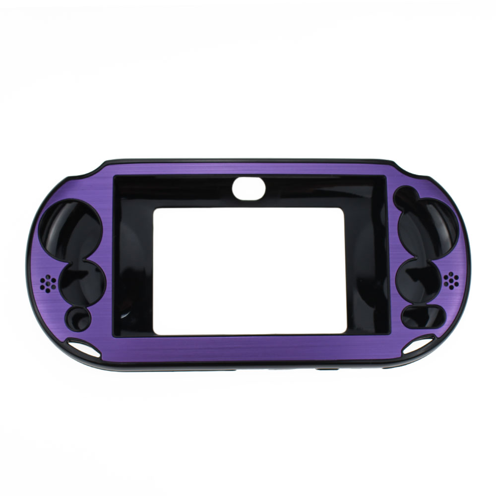 ChengHaoRan Hot sale 9 colors Aluminum plastic Skin Case Cover Shell for Sony PlayStation PS Vita 2000 PSV PCH 20 repair parts in Replacement Parts Accessories from Consumer Electronics