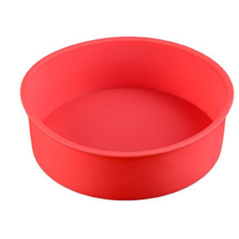 Kitchen Accessories Silicone Cake Molds Non stick DIY Baking Dish Mold Round Cake Decoration Tools in Cake Molds from Home Garden