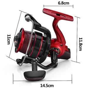 Image 3 - YUYU Sea Fishing Spinning Reel 5500 6500 di Grandi Dimensioni In Metallo Spool 13 + 1BB Acqua Salata casting reel di Pesca Surfcasting Bobina Lontano ruota