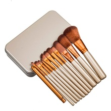 12pcs/Set Professional Makeup Brushes Tools Set NK3 Make Up Brush Tools Kits For Eye Shadow Palette Cosmetic Brushes
