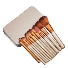 12pcs/Set Professional Makeup Brushes Tools Set NK3 Make Up Brush Tools Kits For Eye Shadow Palette Cosmetic Brushes
