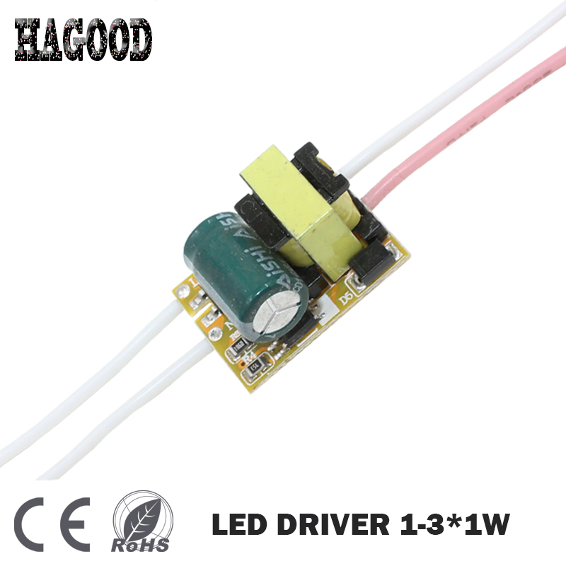 1 3W LED Driver AC90 265V Output DC3 12V Constant Current 280 300mA Light Transformer Power