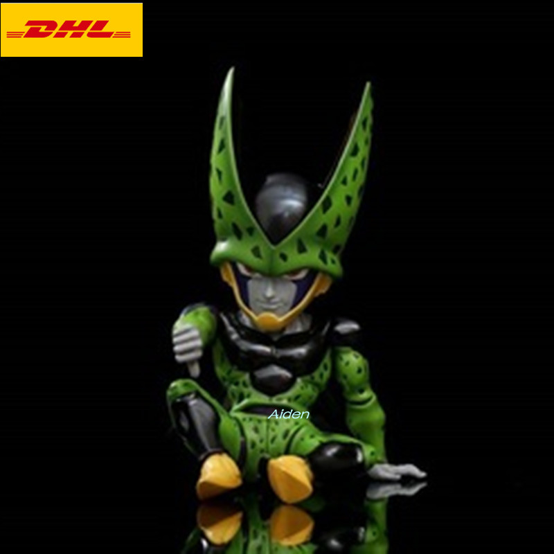 5 Statue Dragon Ball Bust Cell Full-Length Portrait Q Version Dragon Ball Series GK Action Figure Model Toy BOX 12CM Z10765 Statue Dragon Ball Bust Cell Full-Length Portrait Q Version Dragon Ball Series GK Action Figure Model Toy BOX 12CM Z1076