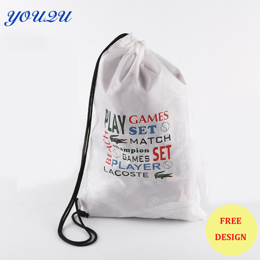Lead free Polyester Drawstring Bags drawstring backpack backpack bags lowest price escrow accepted