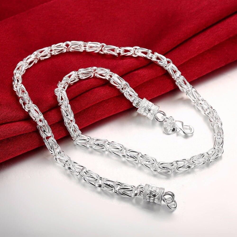 "New Fashion Dragon Head T-O Accessories Unisex Bracelet+Necklace Set 18/"",8"